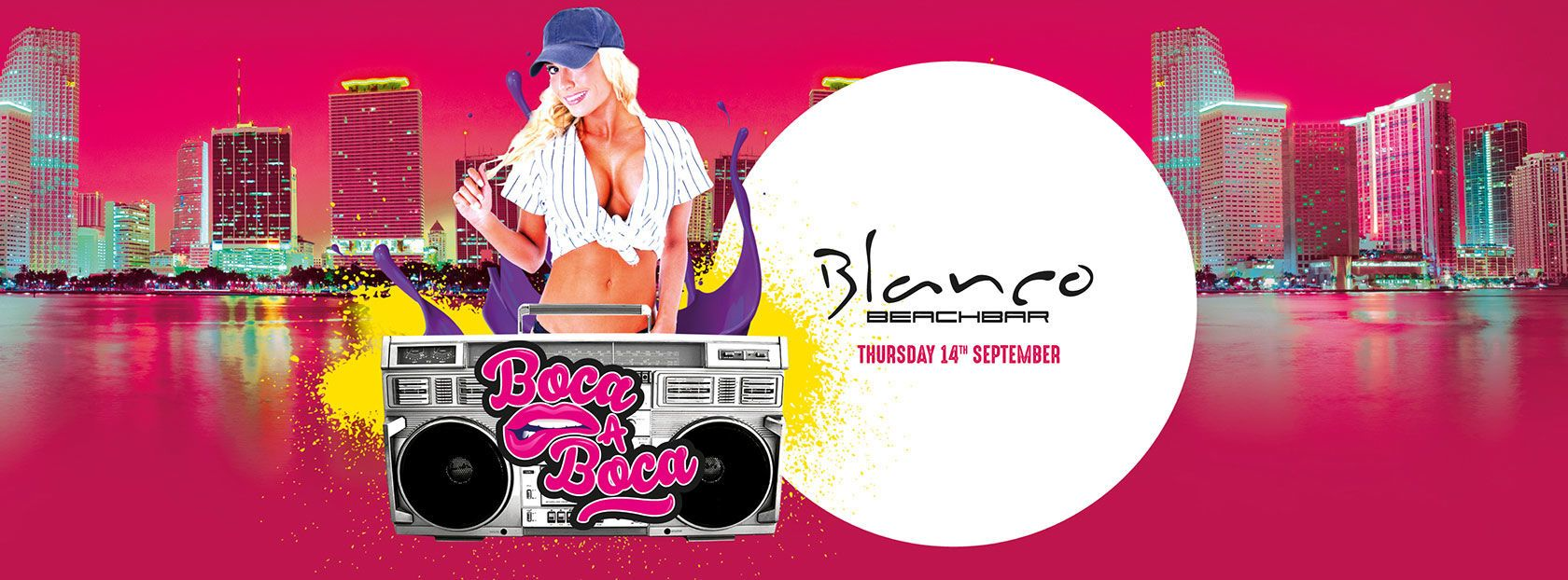 Blanco Beach Bar - Boca a boca