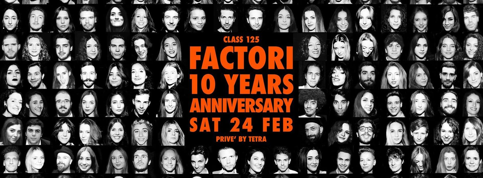FACTORi 10 Years Anniversary / Privé Tetra*