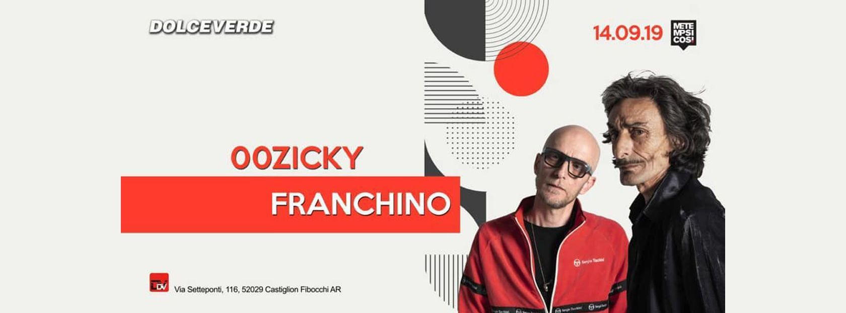 DOLCEVERDE 00zicky & Franchino - Big Event