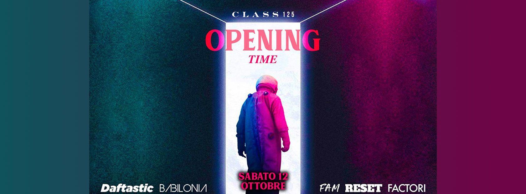Class 125 - Class 125 - Opening Night