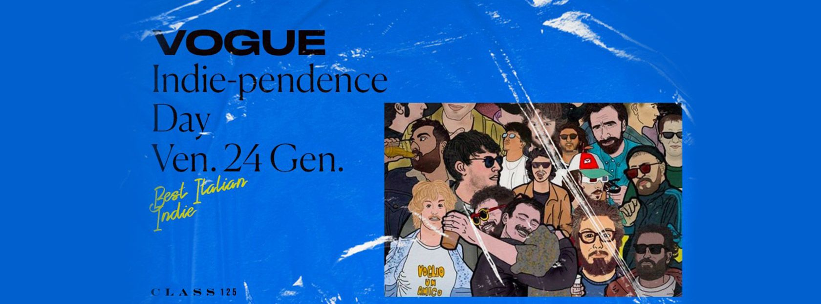 VOGUE party | Indie-Pendence Day