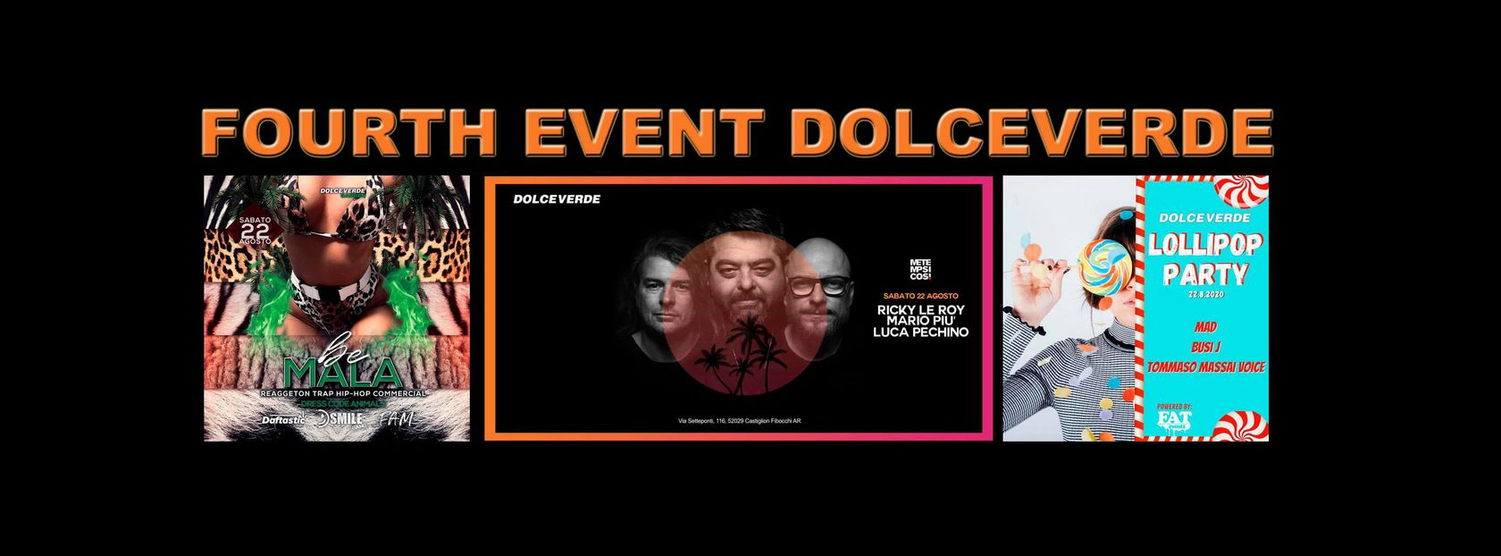 - DOLCEVERDE Fourth Event