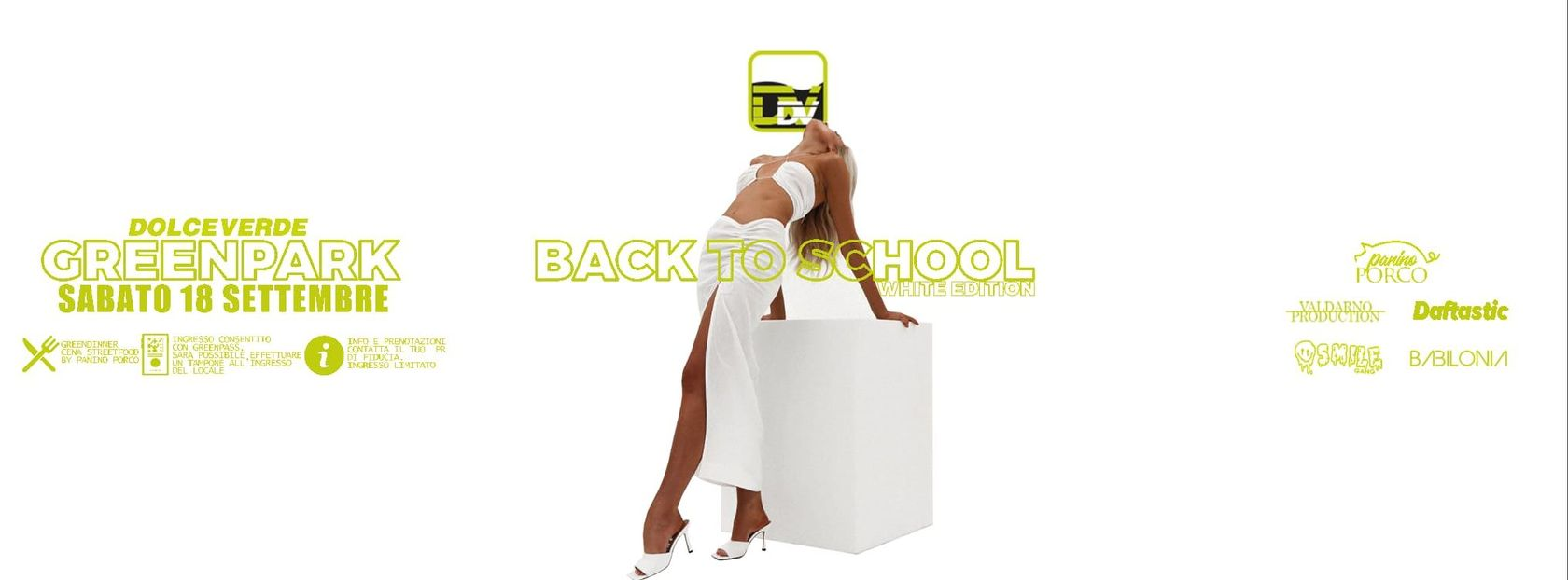 - Greenpark - BACK TO SCHOOL - White edition
